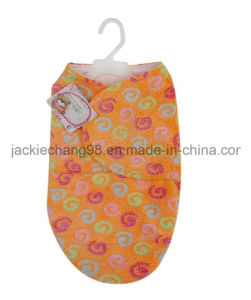 Offset Printed Coral Fleece Sleeping Bag (HR01SB001) pictures & photos