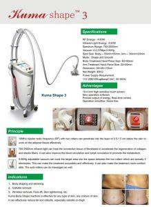 Five in One Body Contouring Salon Beauty Appliance Syneron Velashape III Velashape Vacuum Roller RF Kuma Shape Cellulite Removal Machine Price pictures & photos