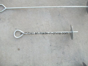 Steel Ground Anchor, HDG Steel Earth Auger pictures & photos