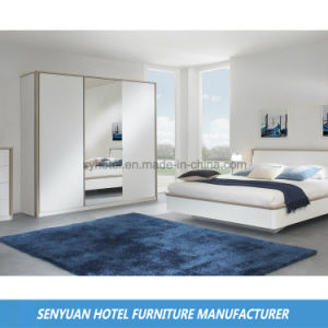 High Gloss White Modern Fast Express Inn Furniture (SY-BS141)