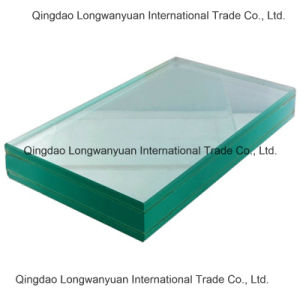 Safety Toughened Bullet Proof Glass for Security (LWY-TG46)