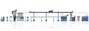 Plastic PVC Cable Extruder Production Line pictures & photos