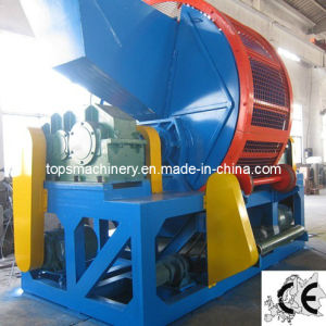 Tire Shredding Machine (SLPS-800; SLPS-1200) pictures & photos