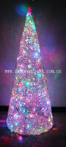 LED Pyramid Outdoor Christmas Decoration Floor Light pictures & photos