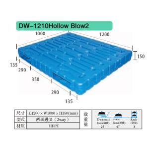 Hollow Blow Plastic Pallet Dw-1210 pictures & photos