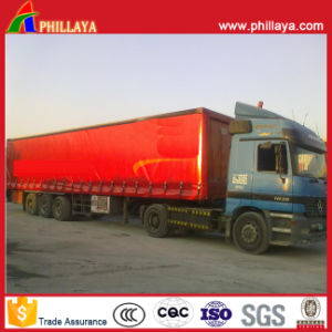 Three Axles Curtain Side Trailer pictures & photos