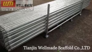 Concrete Slab Forming Scaffolding Steel Tube with Fittings pictures & photos