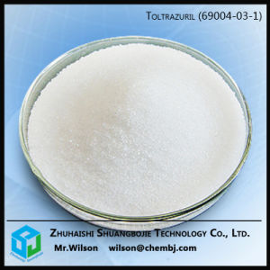 High Quality Raw Material Veterinary Medicine Toltrazuril Powder pictures & photos
