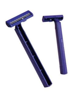 Cheap China Twin Blade Disposable Razor with Good Quality