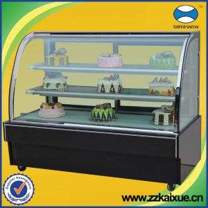 Cake Display Showcase Refrigerator with CE
