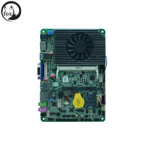 Intel J1900 Quad Core Industrial Motherboards/ 4 Inch Fanless Industrial Motherboards /USB3.0 Industrial Embedded Motherboards pictures & photos