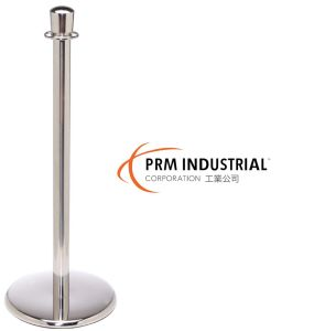 Crown Top Stainless Steel Post and Cast Iron Base Rope Stanchion pictures & photos