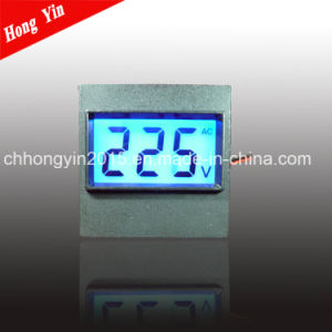 2015 New Design LCD AC Digital Panel Voltmeter pictures & photos