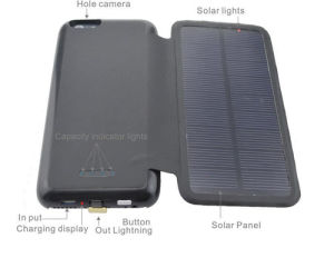 2015 Hot Selling Solar Charger Case for iPhone 6 pictures & photos