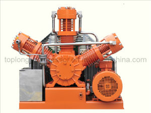 Oil Free Oilless High Pressure O2 Oxygen Helium Nitrogen Argon Piston Pump Compressor Booster (WType) pictures & photos