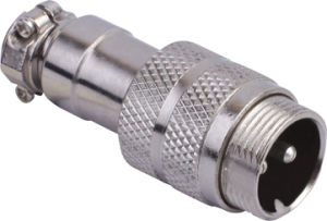 Circular Cable Power Waterproof Connector (M16-2k)