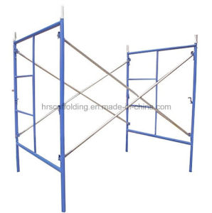 High Quality Construction System of Mason Half Ladder Frame Scaffolding Hot Sales pictures & photos