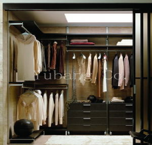 Solid Wood Wardrobe Closet (closet organizers) (BF30) pictures & photos