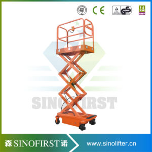 Chinese Custom Narrow Scissor Lift pictures & photos