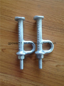 Steel Casting Power Line Fitting Step Bolt pictures & photos