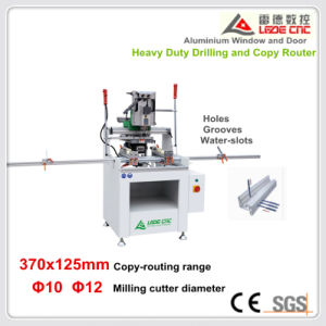 Heavy Duty Drilling and Copy Router Machine for Aluminum Window 370X125 pictures & photos