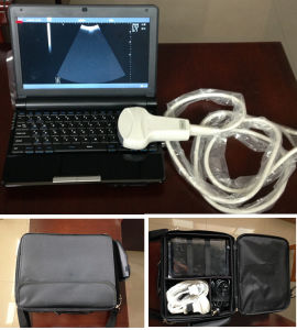 Bulit-in Battery Small Portable B-Mode Ultrasound Scanner pictures & photos