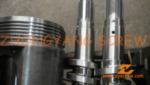 Manufacturing PVC Pipe Bimetallic Twin Conical Screw Barrel pictures & photos