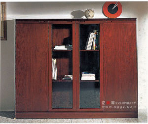 Fireproof Wood Office Filing Cabinet for Sale (DG-26) pictures & photos
