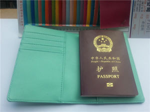 Passport Cover with Card Holder pictures & photos