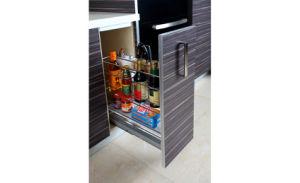 Melamine Board Kitchen Cabinet Furniture (zg-029) pictures & photos