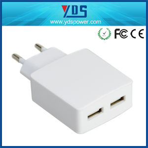Made in China 1/2/3 USB Port Mobile Phone Charger Portable Travel Charger Ce pictures & photos