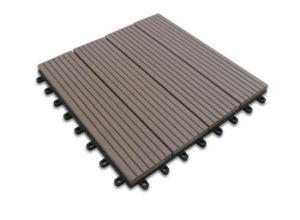 High Quality Outdoor Composite WPC Decking Flooring DIY
