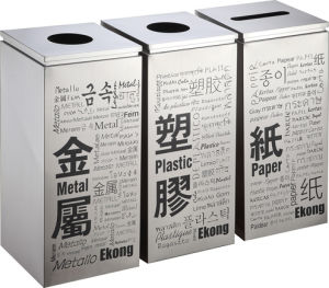 Hot Selling Dustbin for Hongkong Market (HW-151) pictures & photos