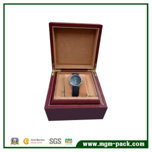 Elegant Custom Wooden Watch Box with Pillow pictures & photos