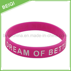 Cheap Promotional Gifts Customized Rubber Wristbands pictures & photos