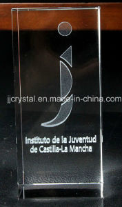Crystal Glass Inner Laser Engraving Cube pictures & photos