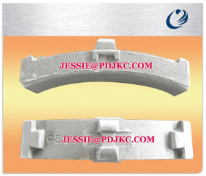 Semi Metallic Train Brake Shoe (UIC543) pictures & photos