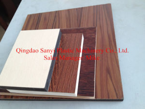 PVC Table Plank Extruder Machine pictures & photos