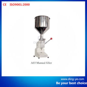 Manual Filler A03 (Juice Cosmetic Shampoo Filling Machine) pictures & photos