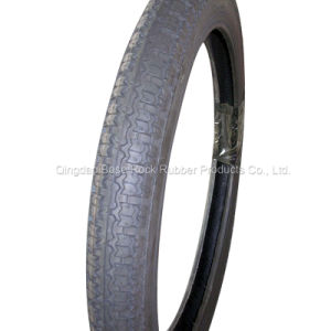 Rubber Contect 30%-40% Motorcycle Tire/Tyre (2.50-17)