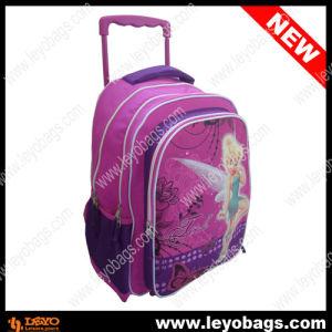 Kids Girls School Trolley Bag Backpack with Wheels