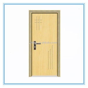 Beautiful PVC Wooden Door pictures & photos