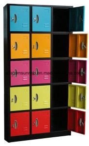 15 Door Steel Storage Wardrobe Clothes Locker pictures & photos