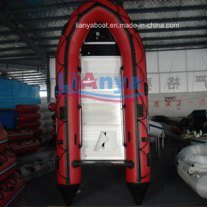Liya 2-6.5m PVC Foldable Inflatable Rubber Motor Boat pictures & photos