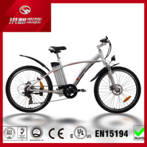26inch Customized Mountain Electric Bicycle with Pedal Bike for Beach City Tour pictures & photos