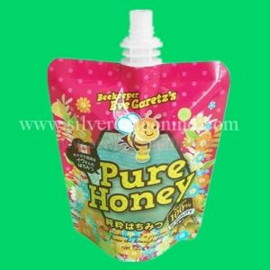 Custom Stand up Pouch with Spout for Honey Packing pictures & photos
