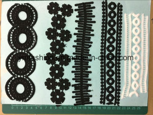 Black Color Polyester Lace Trimming pictures & photos
