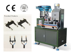 Automatic 2 Flat Plug Pin Insert Machine pictures & photos