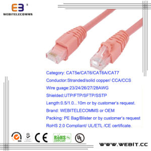 CAT6/CAT6A/ Cat7 Patch Cord/Patch Cable pictures & photos