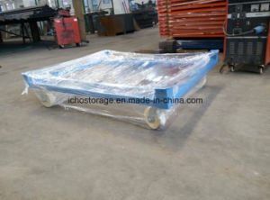 Ce Approved Heavy Duty Movable Pallet Transport Trolley Cart Carrier pictures & photos